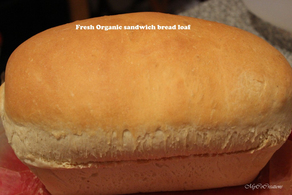 Organic White Bread Loaf