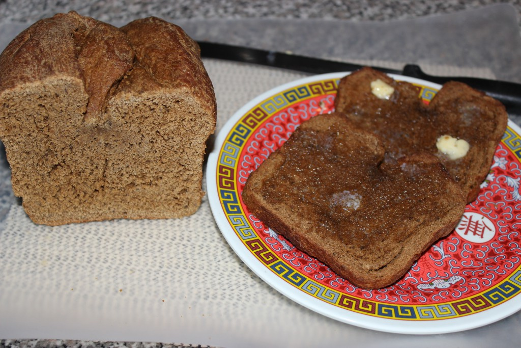 Organic Wheat Bread Loaf